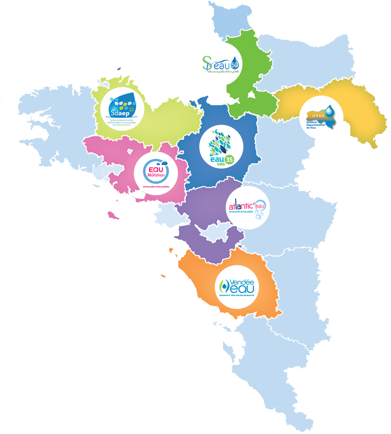 Carte des syndicats